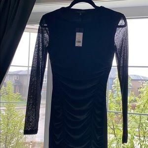 Dynamite Black Bodycon Dress